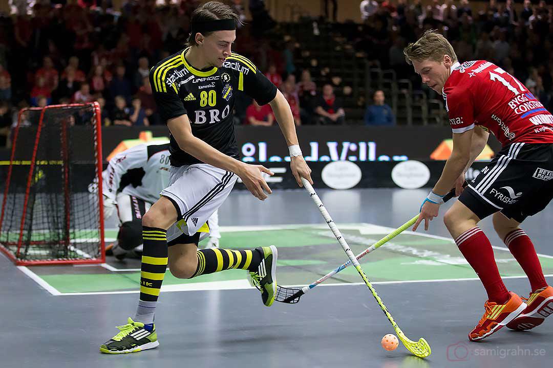 AIK Andreas Dahlkvist och Storvreta Niklas Winroth