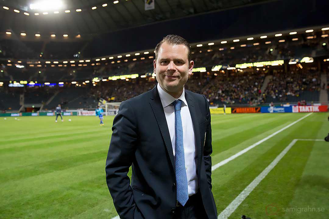IFK Göteborgs tränare Mikael Stahre