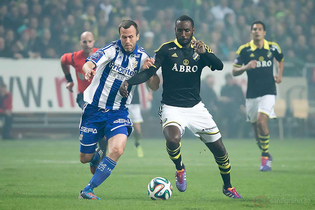 IFK Göteborg Hjalmar Jonsson och AIK Henok Goitom