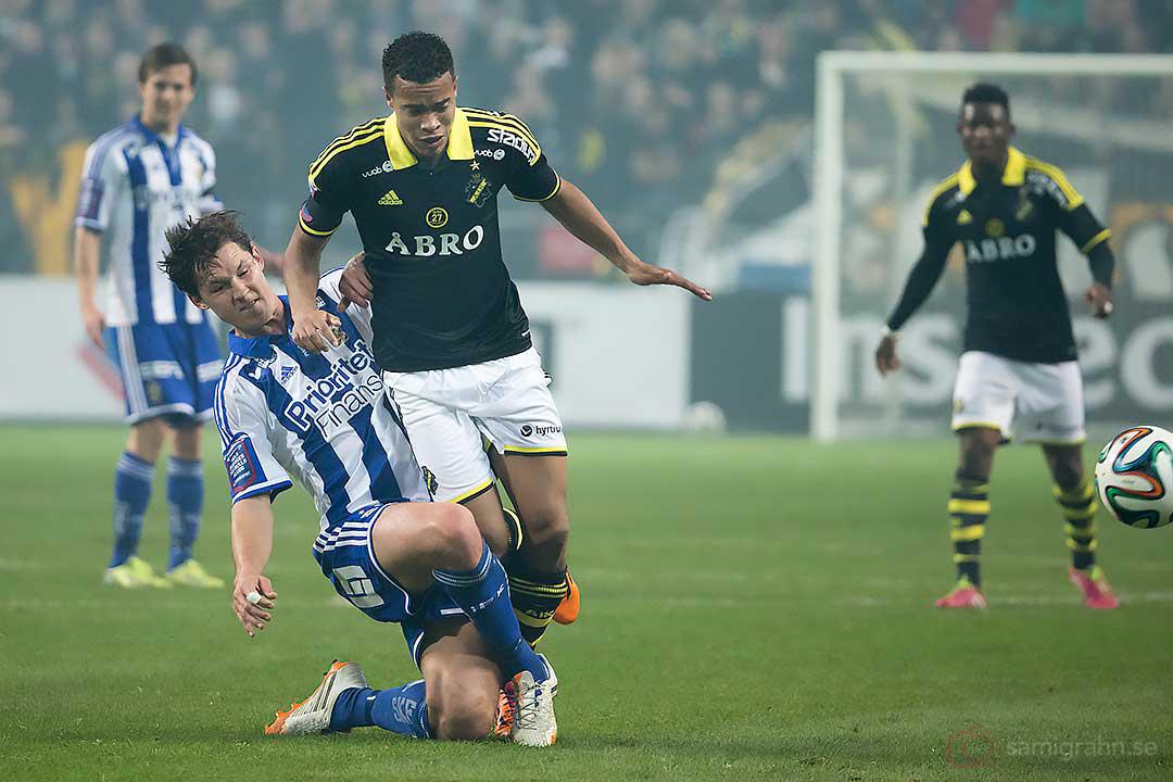 IFK Göteborg Philip Haglund och AIK Robin Quaison