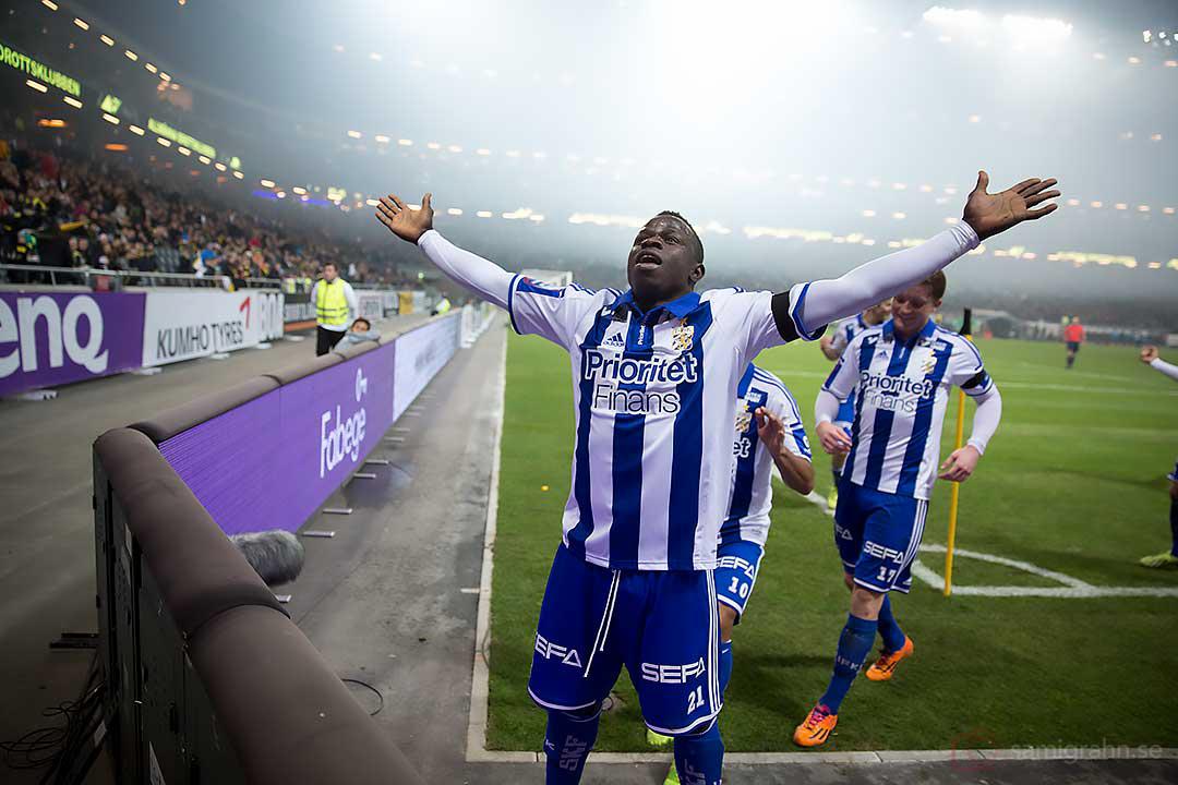 Målskytten IFK Göteborg Malick Mané