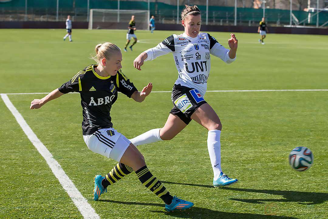 AIK Sarah Storck och Sirius Julia Lyckberg