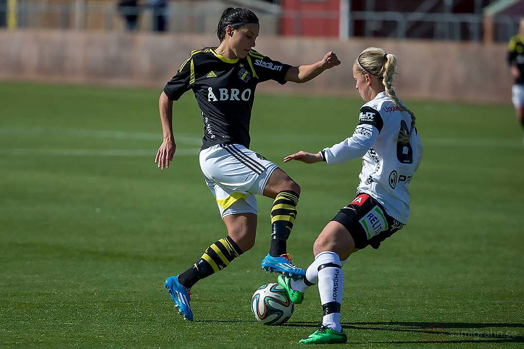 AIK Jessy Sharro och Sirius Mikaela Björklund