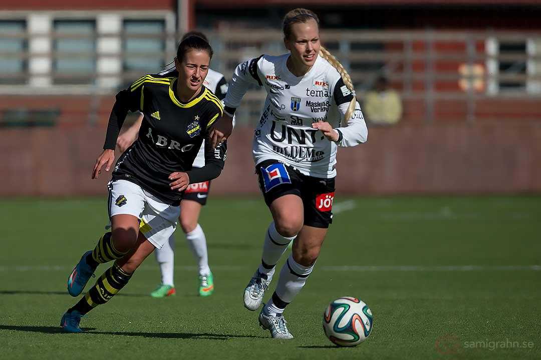 AIK Daniella Novaković och Sirius Mikaela Björklund