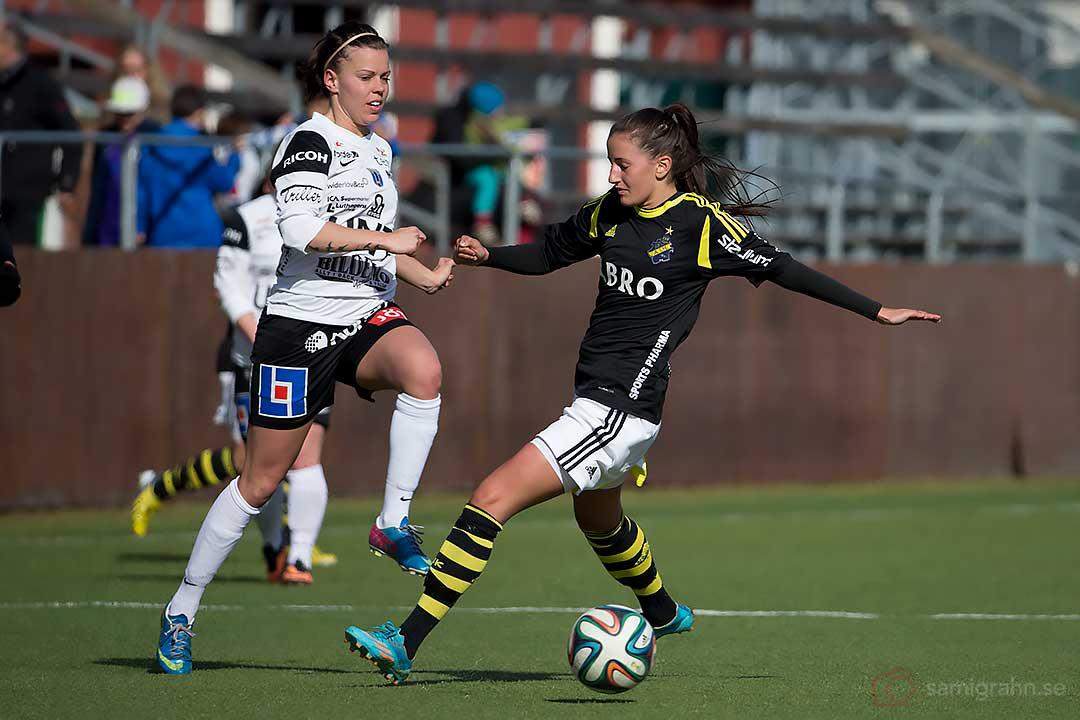 Sirius Julia Lyckberg och AIK Daniella Novaković