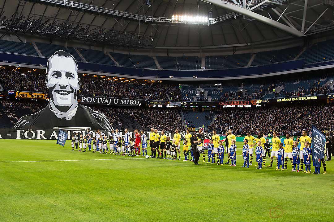 Tyst minut till minne av Ivan Turina