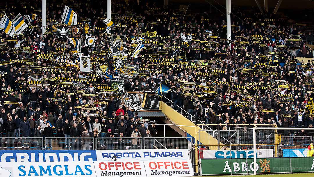 Alltid mycket publik på Norra Stå