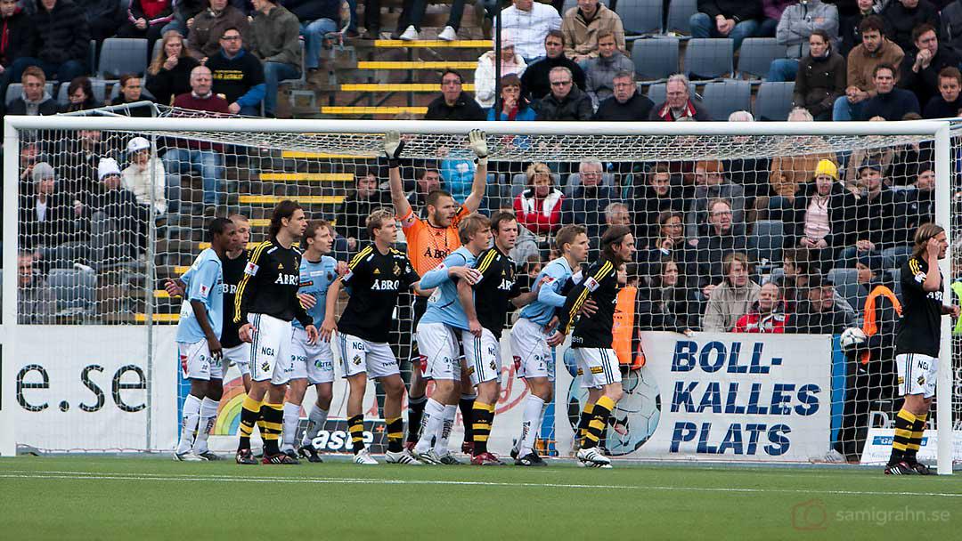 Trångt runt AIK målvakt Daniel Öhrlund