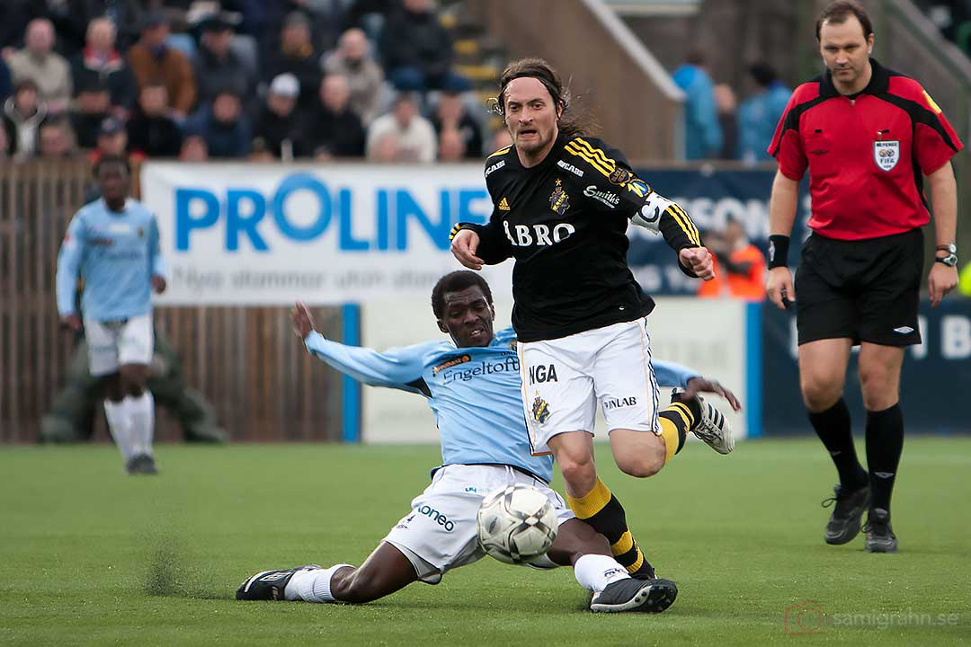 AIK Mats Rubarth fälls