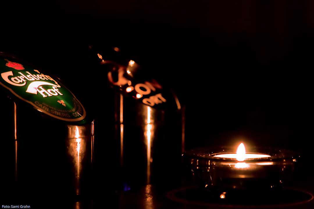 Öl och ljus