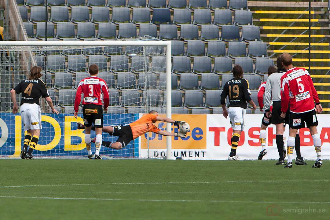 Räddning av AIK Daniel Örlund