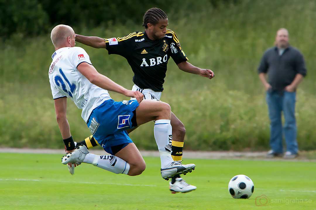 Norrköping Thomas Magnusson och AIK Yussuf Saleh