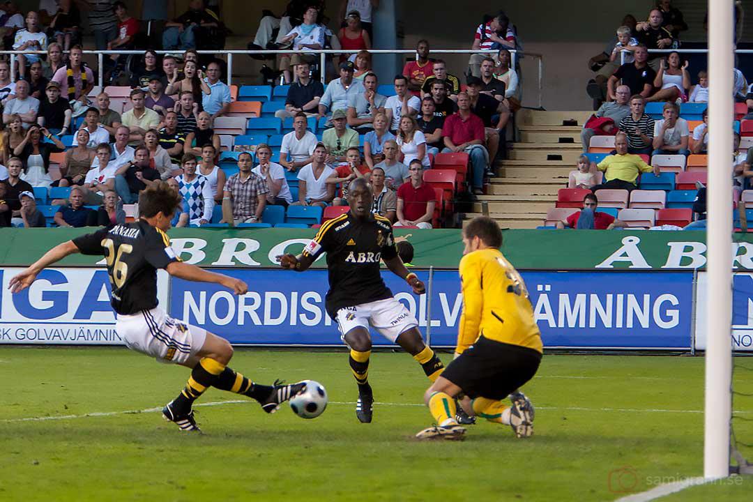 Mååååååål i slutminuterna av AIK Daniel Mendes