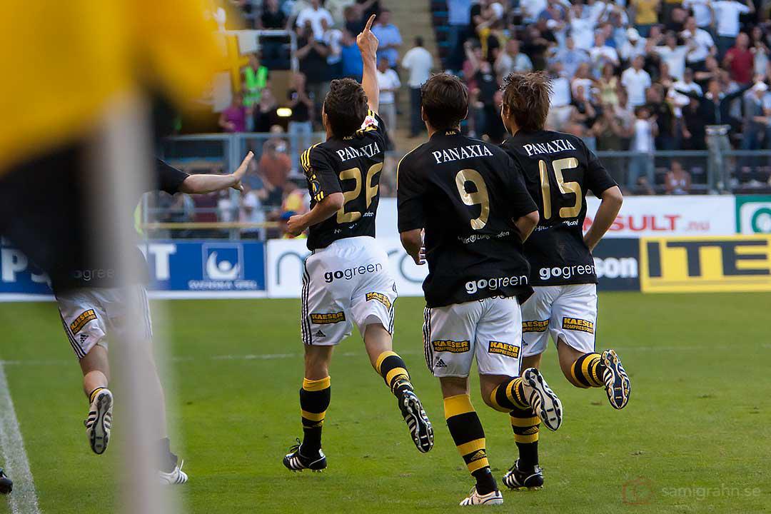 Målskytten AIK Daniel Mendes