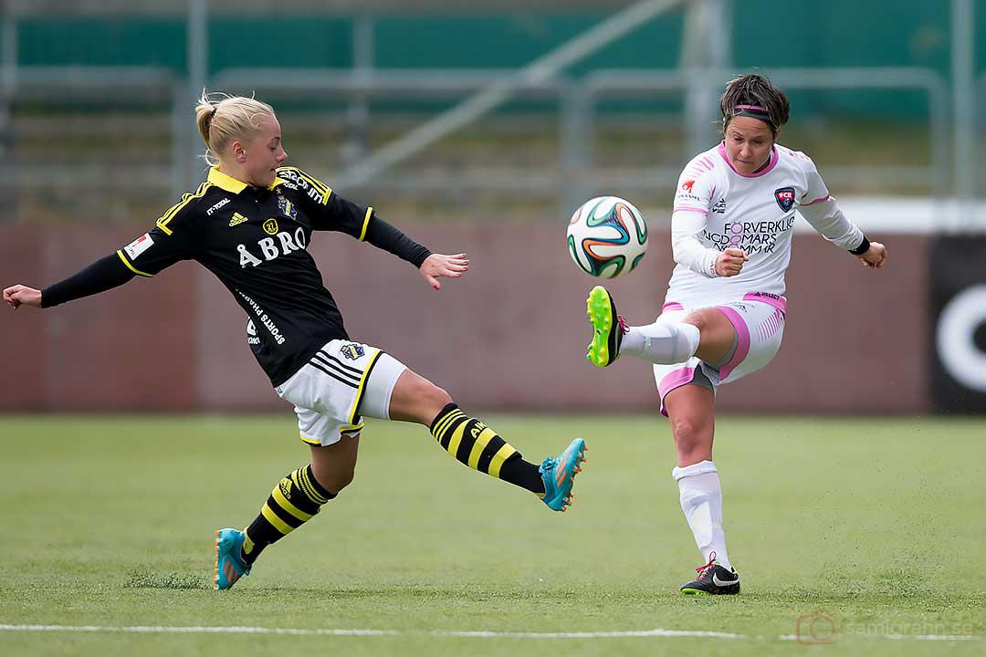 AIK Elin Bragnum och Rosengård Kathleen Radtke