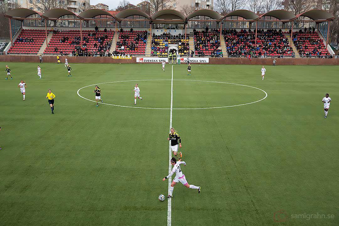AIK - Rosengård inför 513 åskådare på Skytteholm