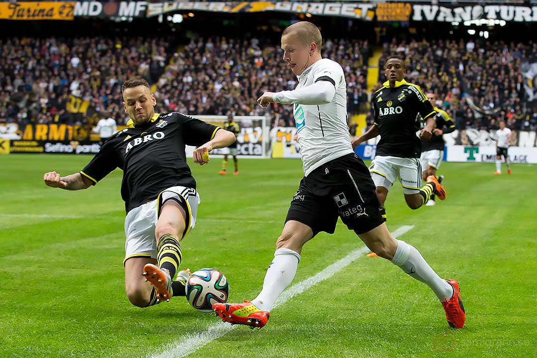AIK Alexander Milošević bryter Örebro Daniel Gustavsson