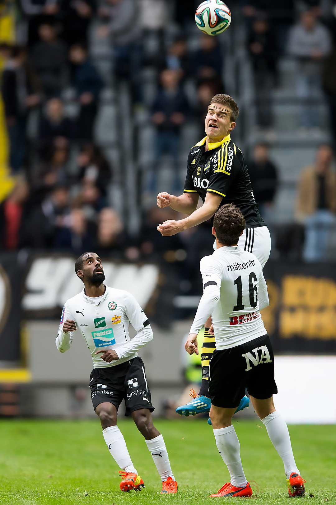 AIK Eero Markkanen hoppar högst