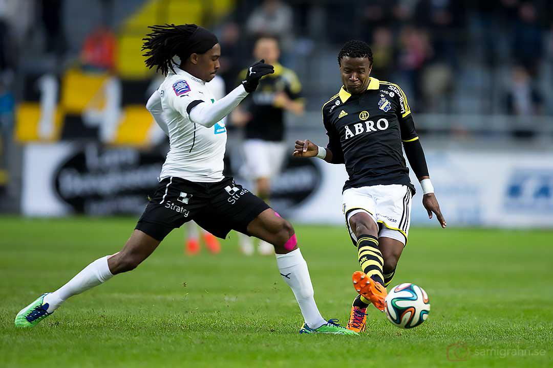 Örebro Ayanda Nkili och AIK Kennedy Igboananike