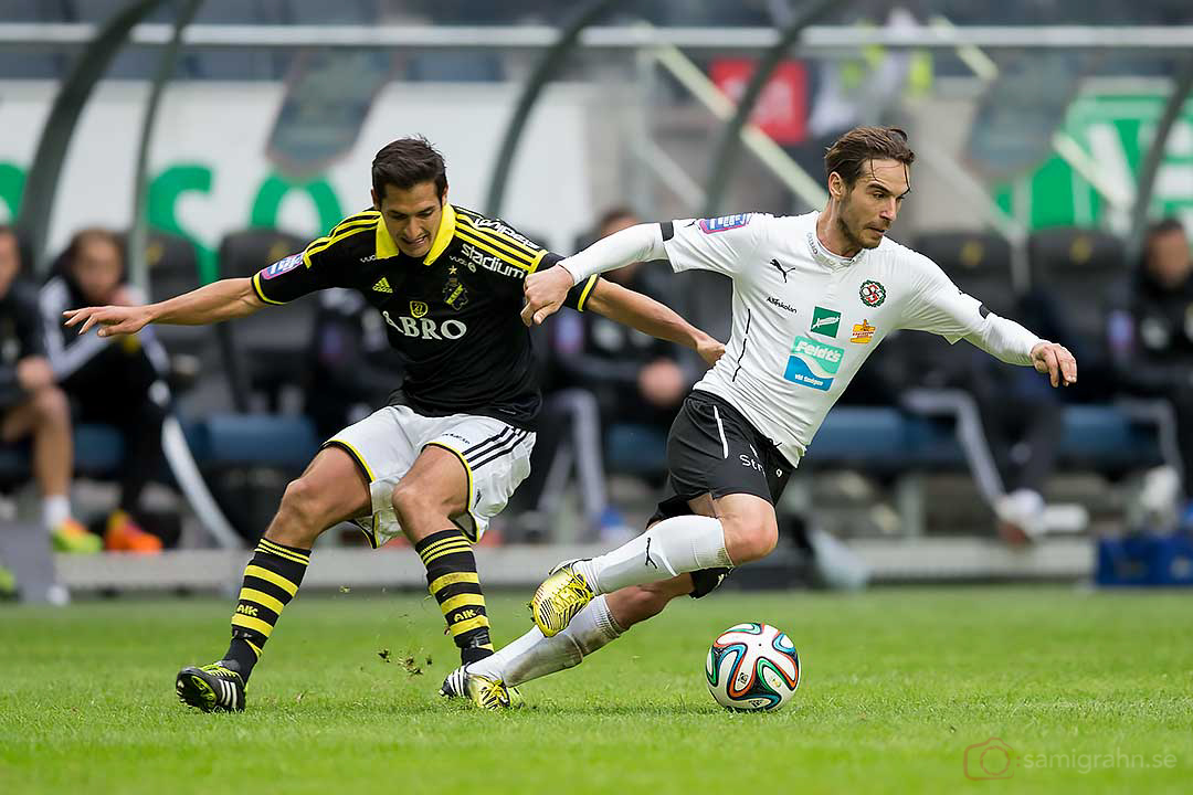 AIK Celso Borges och Örebro Nordin Gerzic