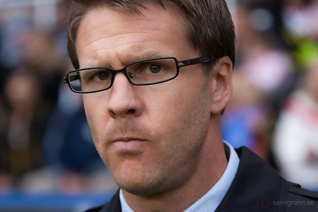 AIK tränare Rikard Norling