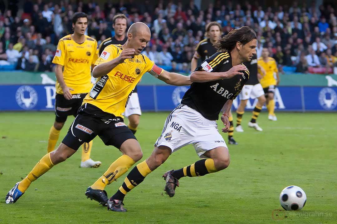 AIK Ivan Obolo rycker ifrån