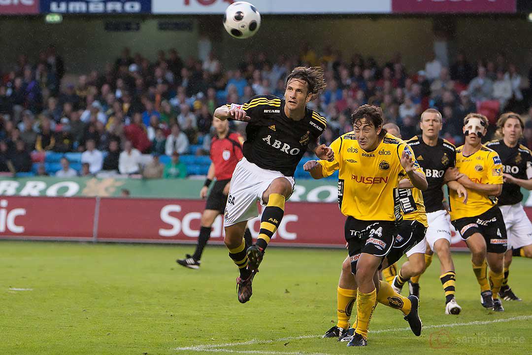 AIK Ivan Obolo nickar i duggregnet