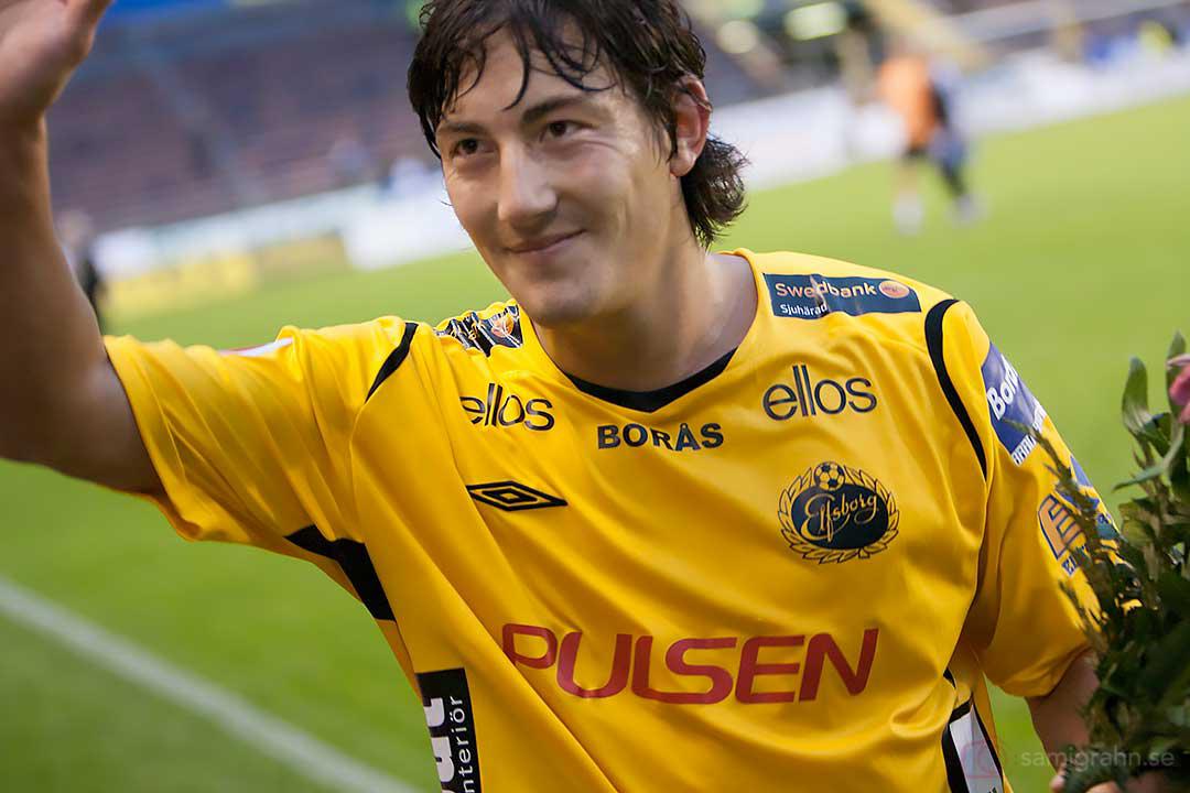 Elfsborg Stefan Ishizaki utsågs välförtjänt till matchens spelare på sin gamla hemmaarena