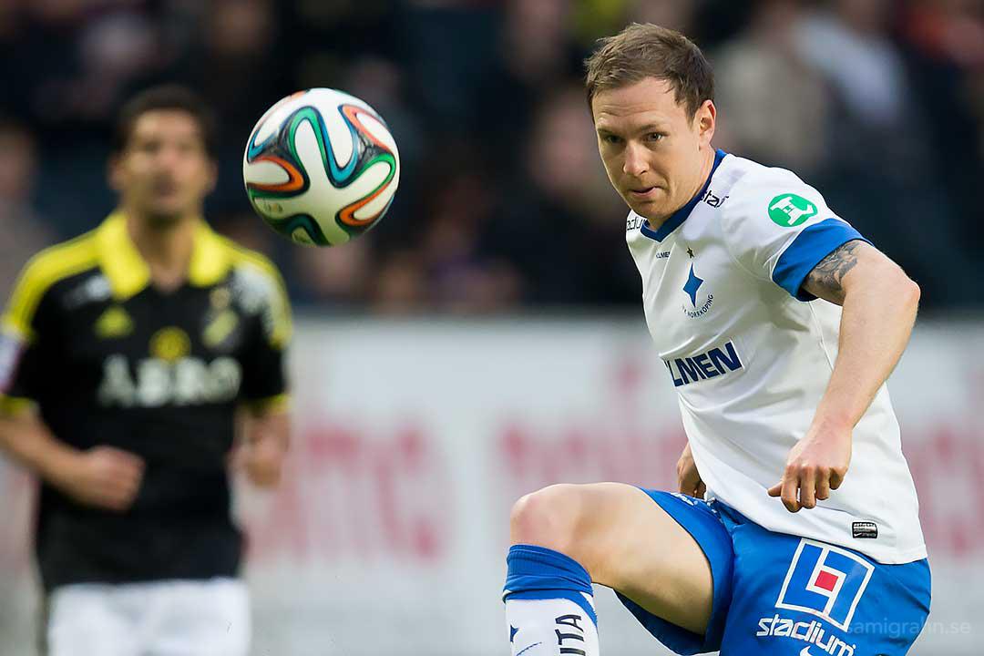 Målskytt IFK Norrköping Marcus Falk Olander