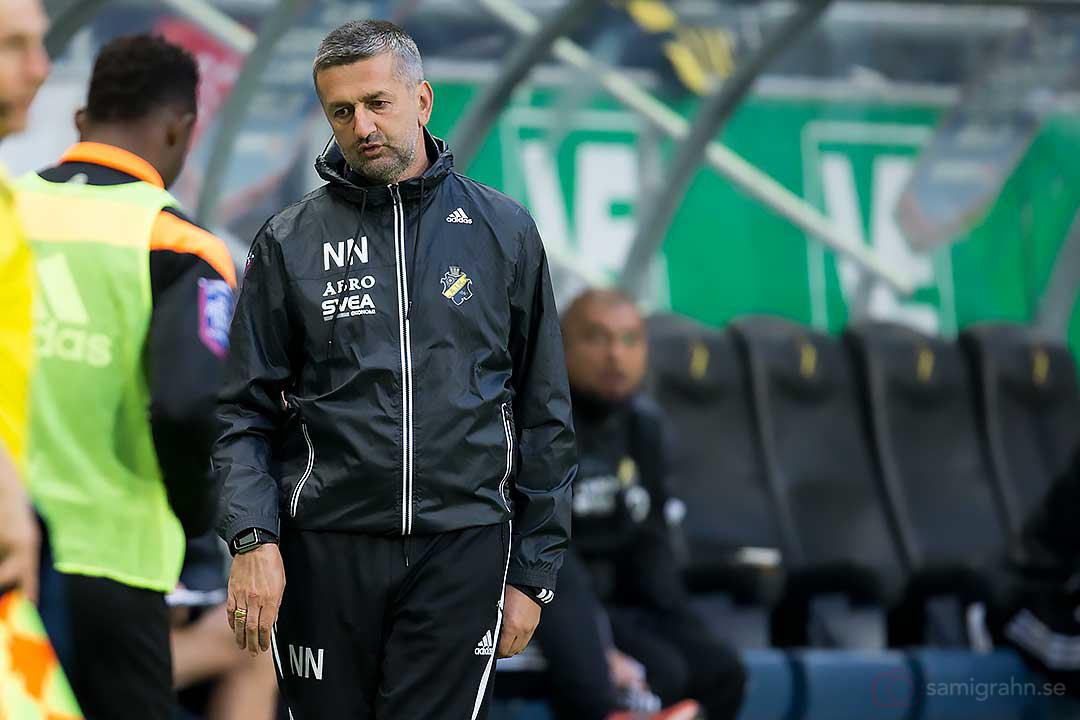 AIK assisterande tränare Nebojsa Novakovic lämnar