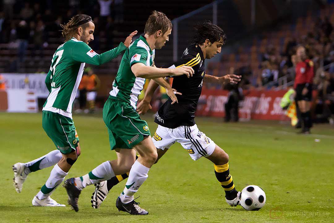 En jagad AIK Jorge Ortiz