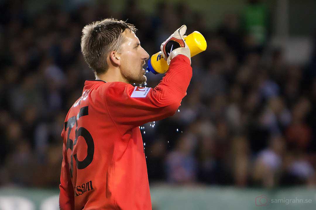 AIK målvakt Nicklas Bergh