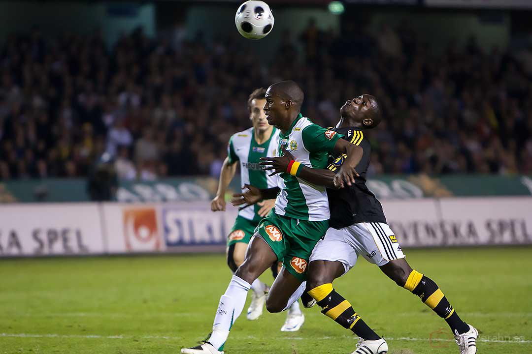 Hammarby José Monteiro de Macedo och AIK Saihou Jagne