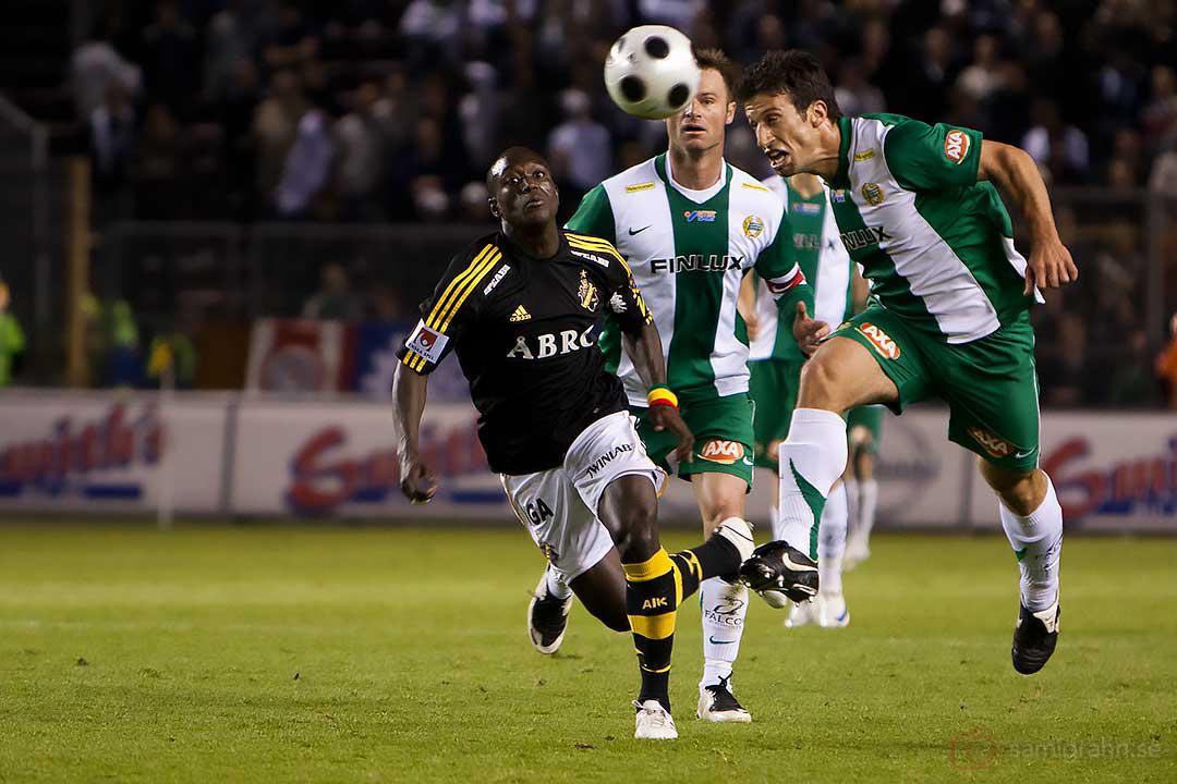 AIK Saihou Jagne ser Hammarby Suleyman Sleyman göra sitt första tävlingsmål på 13 år