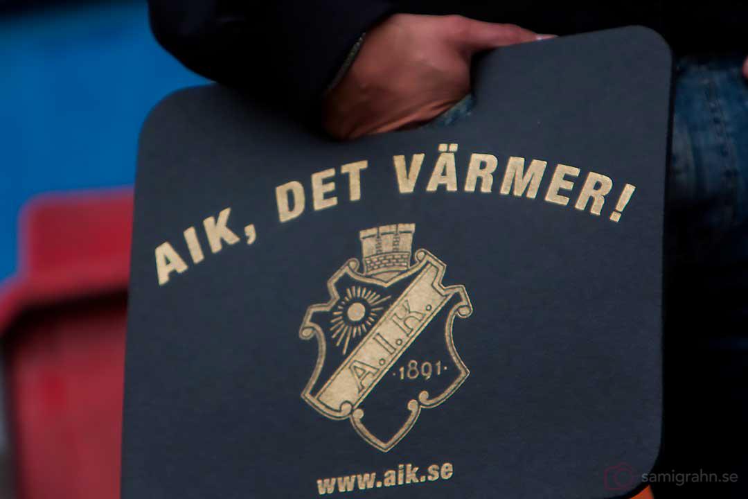 AIK-sittunderlag