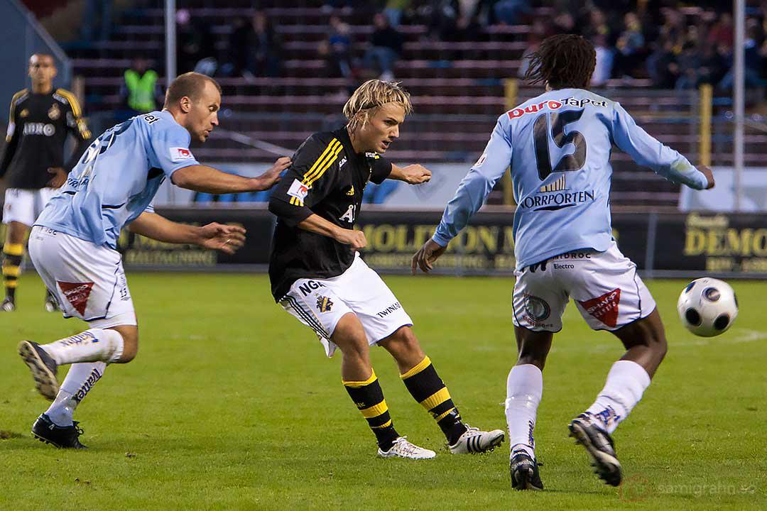 AIK Pierre Bengtsson rensar