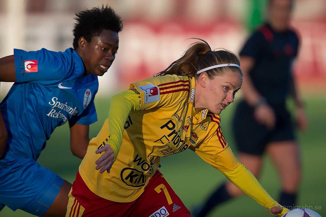 Eskilstuna Gaelle Enganamouit jagar Tyresö Lisa Dahlkvist