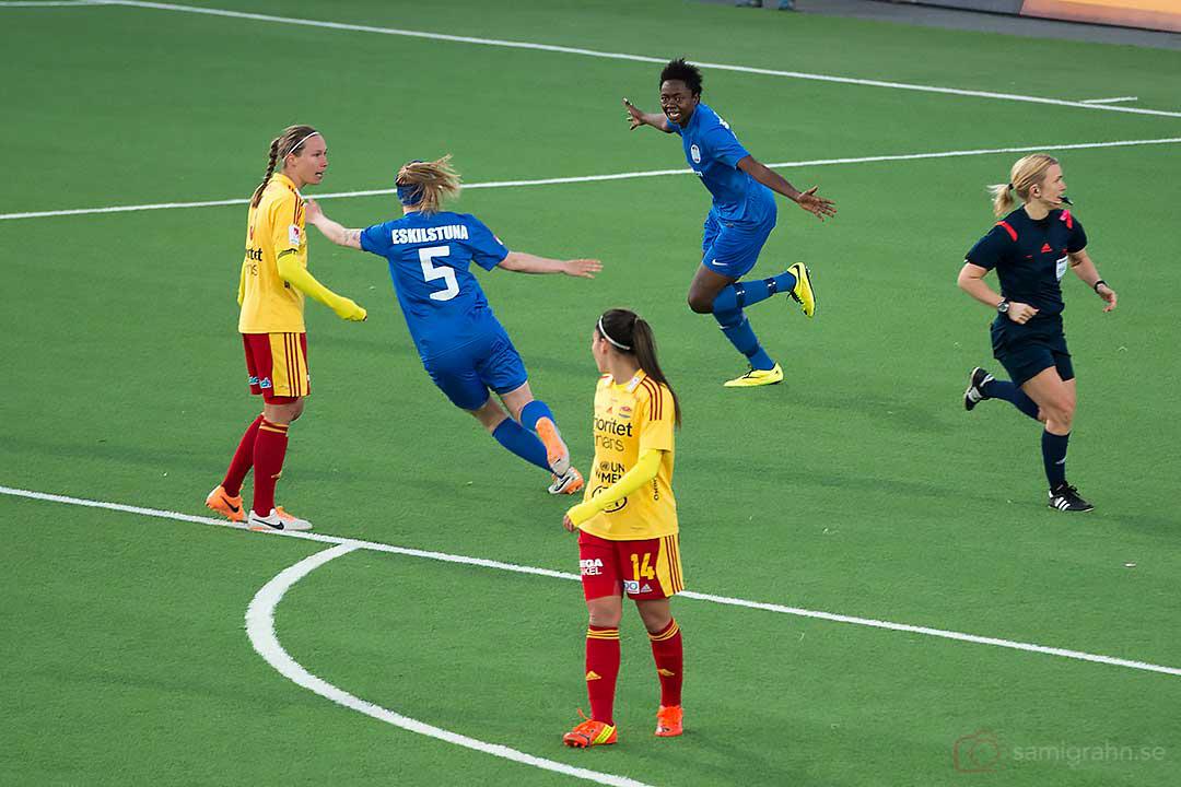 0-1 av Eskilstuna Gaelle Enganamouit