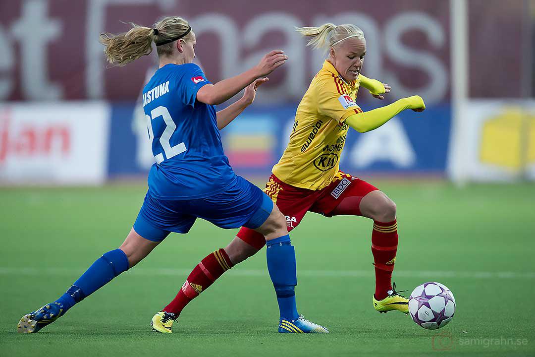 Eskilstuna Frida Svensson och Tyresö Caroline Seger