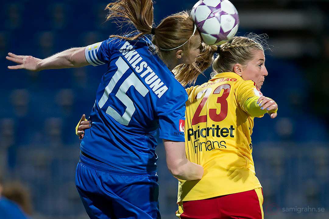 Nickduell mellan Eskilstuna Vaila Barsley och Tyresö Linda Sembrant