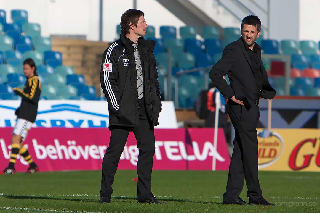 AIK Nebojsa Novakovic besiktar planen inför match