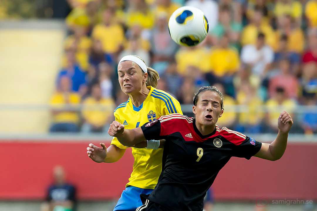 Sverige Sara Thunebro och Tyskland Lena Lotzen