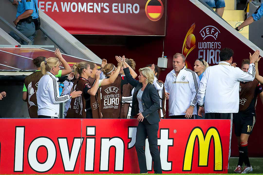 Tysklands förbundskapten Silvia Neid