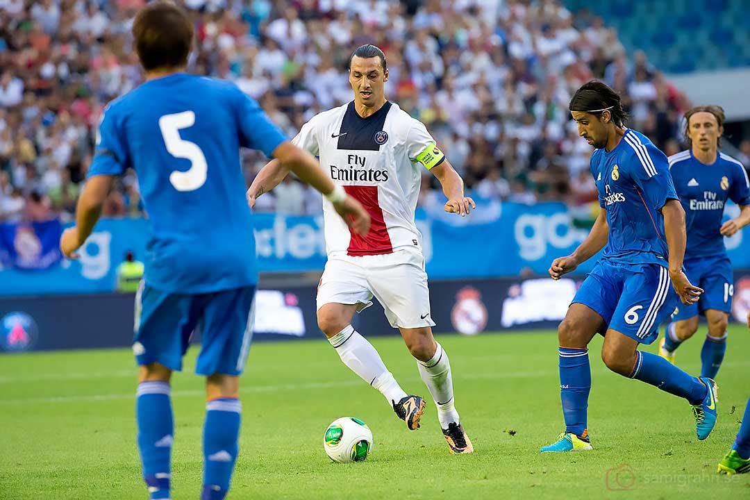 PSG Zlatan Ibrahimovic, Real Madrid Sami Khedira