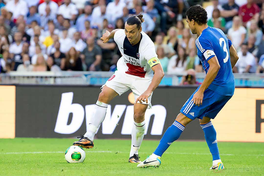 PSG Zlatan Ibrahimovic, Real Madrid Pepe