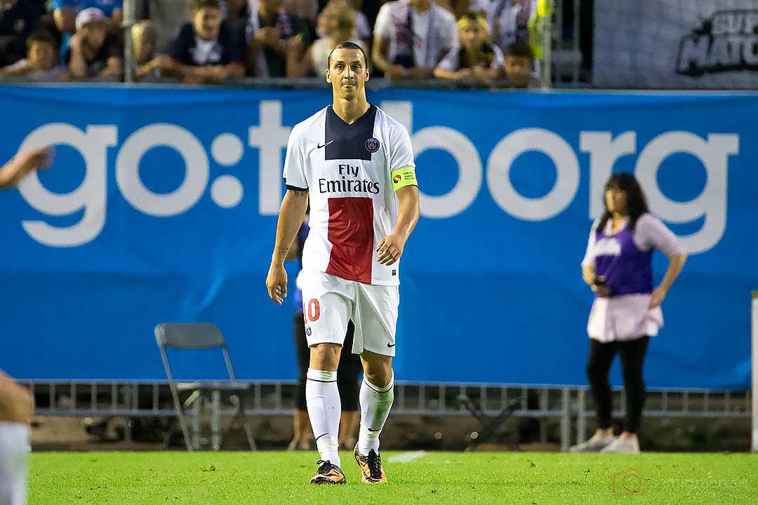 PSG Zlatan Ibrahimovic