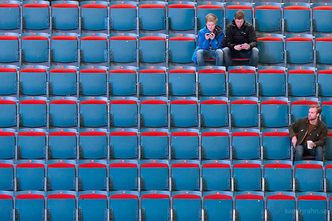 Inte mycket publik på AIK:s hemmamatcher