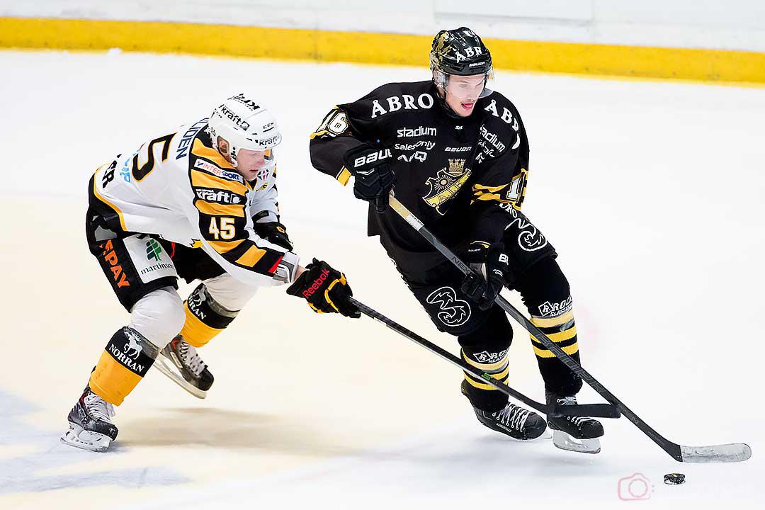 Skellefteå Oscar Möller och AIK Theodor Lennström