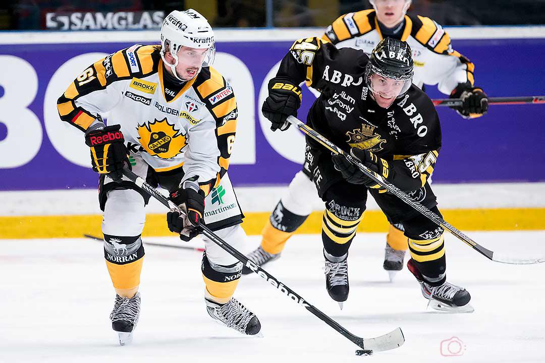 Skellefteå Fredrik Lindgren och AIK Oscar Steen