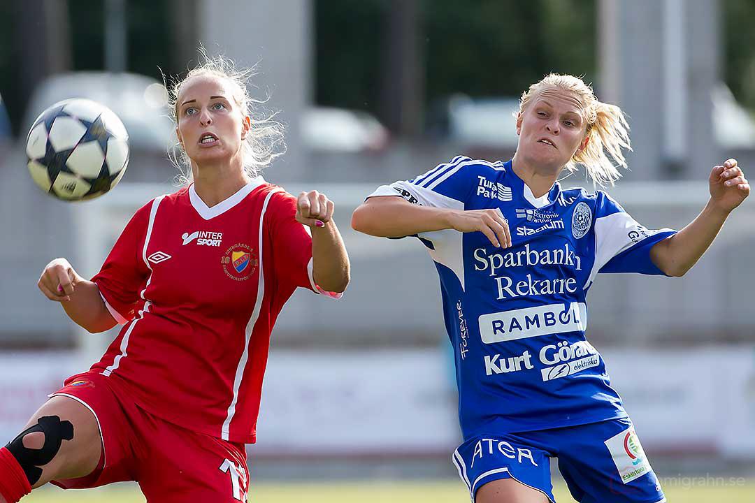 DIF Linda Lundberg och Eskilstuna Erika Blomstrand